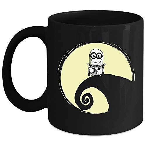 Especially Jack Skellington Minion Cup, Halloween Mug (Coffee
