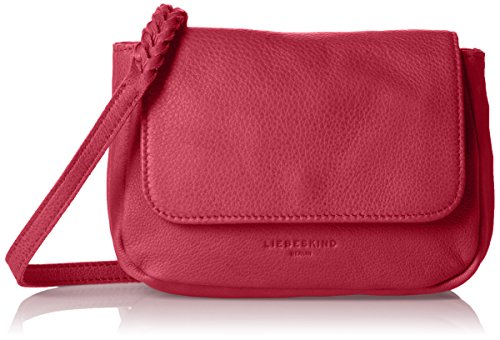 Liebeskind Berlin Kawai Double - Bolso bandolera Mujer Pink (fuxia pink 4479)