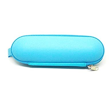 Beats by Dr. Dre Pill 1.0 / 2.0 Bluetooth Wireless Portable Speaker Replacement Hard Carrying Case / Travel Bag (Neon Blue)