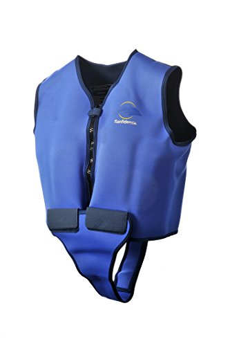 "Konfidence Adult Swim Jacket - Blue/Yellow (42-46"" Chest)"