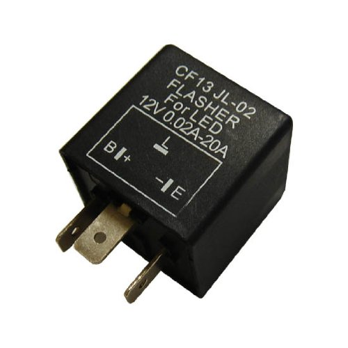 41lDnbnRpLL amazon com 3 pin cf 13 electronic flasher relay fix for led turn Grand National Trunk Wiring at couponss.co