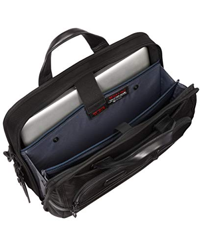 TUMI - Alpha 2 T-Pass Medium Screen Laptop Slim Brief - Black