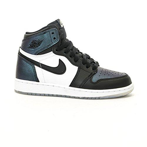 Nike Air Jordan 1 Retro HI OG Black/Metallic Silver