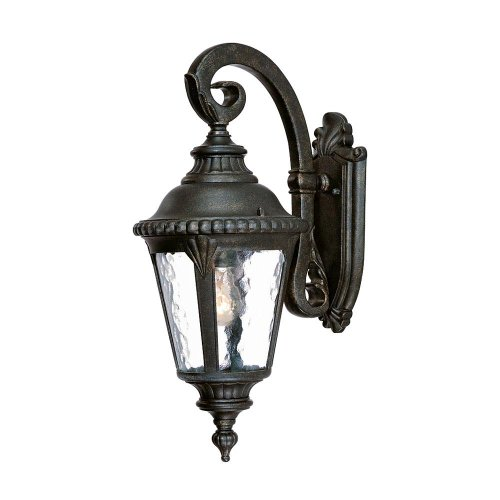 Acclaim 7202BG Surrey Collection 1-Light Wall Mount Outdoor Light Fixture, Black Gold
