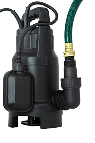Submersible Pump Motor (Watershed Innovations 3000GPH Hydrapump 120V ¾ Hp 3000 Gph Clean/Dirty Submersible Water Pump Includes Float Switch)