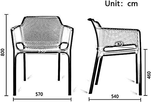 DBL rum vardagsrum plast hem golvskydd material ryggstöd design hög seghet ultimat grepp stol storlek plast skrivbordsstolar (färg: vit) Röd