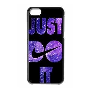 Hard Plastic Cover Case NIKE logo Just Do It Apple iPhone 5C Case
