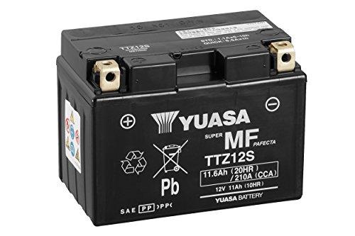 YUASA Batterij TTZ12S-BS AGM open met zuurpack