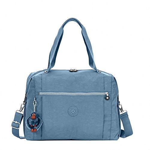 Kipling Women's Ferra Weekender Duffel Bag One Size Blue Bird by Kipling