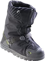 """Featuring a durable windproof and waterproof nylon upper, the compact NEOS 11"""" Explorer Slip Resistant Waterproof Winter Overshoes with STABILicers Outsole are ideal for winter work, sports and expeditions into the wild. These slip-resistant ..."""