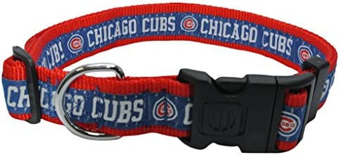 outlet store 2c2aa 82740 MLB CHICAGO CUBS Dog Collar, X-Large
