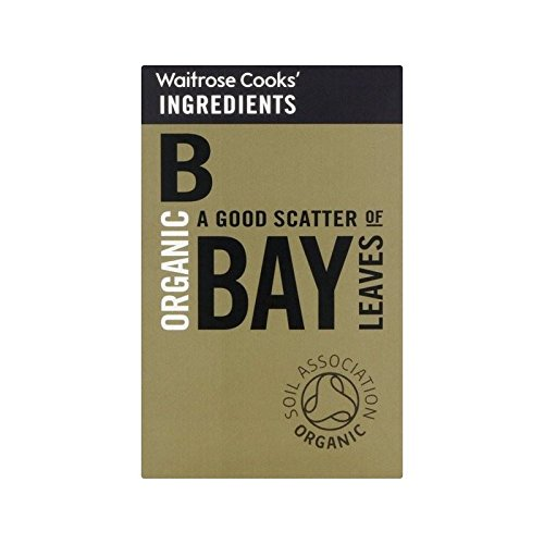 Cooks' Ingredients Organic Bay Leaves Waitrose 5g - Pack of 2