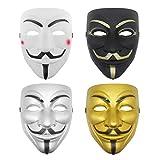 Udekit Hacker Mask V for Vendetta Face Mask for