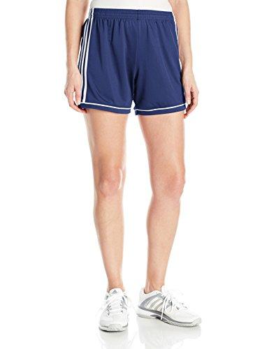 Adidas Women's Soccer Squadra 17 Shorts - X-Large - Dark Blue/White