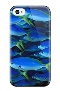 DavidMBernard Case Cover For Iphone 4/4s - Retailer Packaging Fish Protective Case