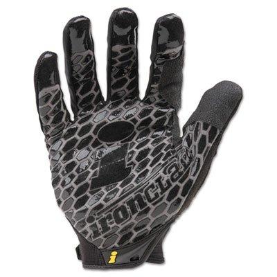 Box Handler Gloves, Black, Medium, Pair, Sold as 1 Pair