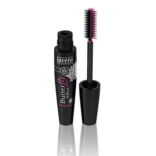 Lavera Butterfly Effect Mascara, #Beautiful Black, 0.37 Ounce, BIO (Butterfly Effect Mascara)
