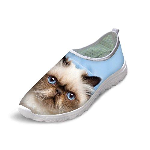 Bigcardesigns Kvinna 3d Levande Vackra Katt Lätta Löparskor Sneakers Katt 6
