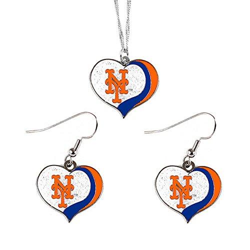new york mets earrings - 8