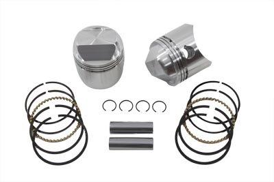 (V-Twin 11-9723 - 1000cc Piston Set .030 Oversize)