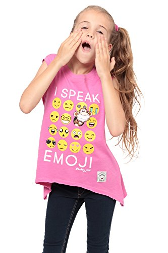 Bobby Jack I Speak Emoji - Muscle Top - Pink