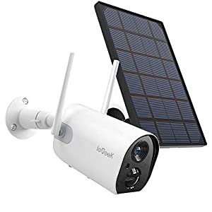 Flashandfocus.com 41lDtIyl78L._SS300_ Wireless Outdoor Security Camera, WiFi Solar Rechargeable Battery Power IP Surveillance Home Cameras, 1080P, Human…