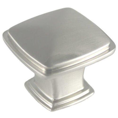 - 25 Pack - Cosmas 4391SN Satin Nickel Modern Cabinet Hardware Knob - 1-1/4