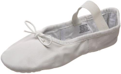 Toddler//Little Kid ,White,9 E US Toddler Bloch Dance Dansoft Ballet Slipper