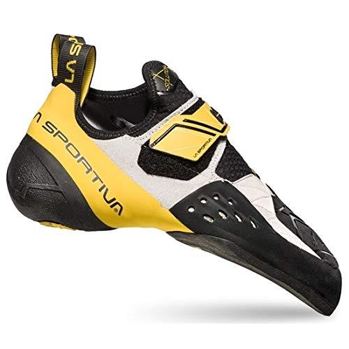 La Sportiva Solution White/Yellow Talla: 45