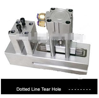 Dotted Line Tear Hole Punching Machines by Huanyu Instrument