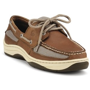 SPERRY Top-Sider Men's Tarpon 2-Eye Boat Shoe Dark Tan, 10 from Sperry Top-Sider