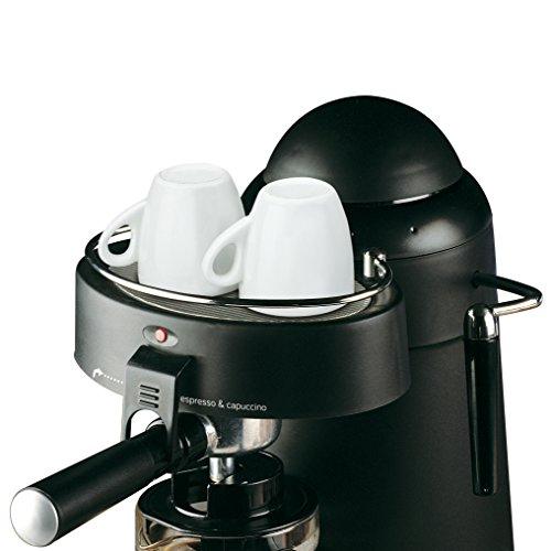 Ufesa CE7115 - Cafetera espresso (Capricciosa, 800W, 0,4L, 2,5Bar, 2, 4 tazas), color negro