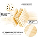 50 PCsFace Mask Disposable Non Surgical 3-Ply