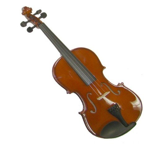 GRACE GV20 4/4 (Full) Size Solid Wood Hand Made Violin with Hard Case+Bow+Free Rosin (Handmade Solid Wood)