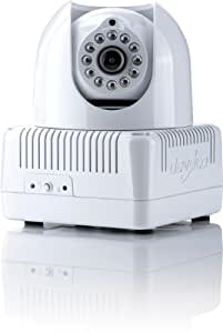 Devolo dLAN LiveCam - Webcam (640 x 480 Pixeles, M-JPEG, 640 x 480 Pixeles, Color blanco, 0 - 130 °, 0 - 270 °)
