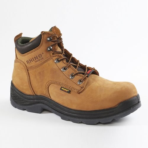 ac42a172837 Amazon.com   Rhino P69R5 6 inch Big ToeSafety Boot - Brown (12 ...