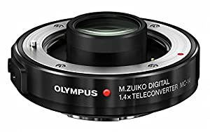 Olympus MC-14 1.4X Teleconverter for the M40-150mm and 300mm f4.0 PRO Lenses (Black)