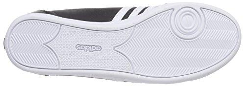 adidas Piona W, Zapatillas de Deporte Para Mujer Negro / Blanco / Plateado (Negbas / Ftwbla / Plamat)