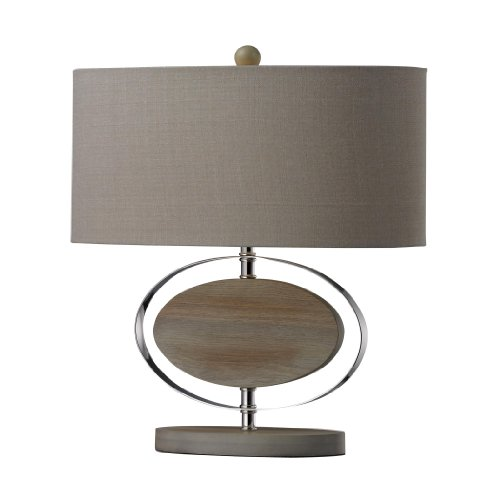 Washed Wood Table Lamp (Dimond Lighting Hereford Washed Wood Table Lamp)