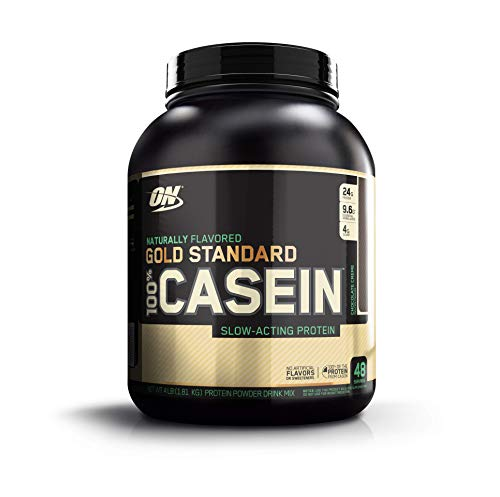 OPTIMUM NUTRITION GOLD STANDARD 100% Whey Protein Powder, Naturally Flavored Chocolate Crème, 4 Pound (Best Whey Protein With Casein)