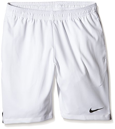 Nike Men's Court 9'' Short, White/Black by Nike (Image #1)
