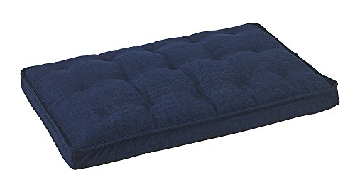 Bowsers Luxury Crate Mattress Dog Bed, Large, Midnight