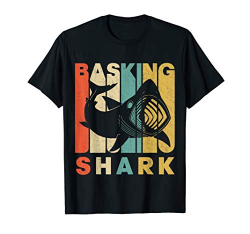 Vintage Retro Basking Shark Silhouette T-Shirt
