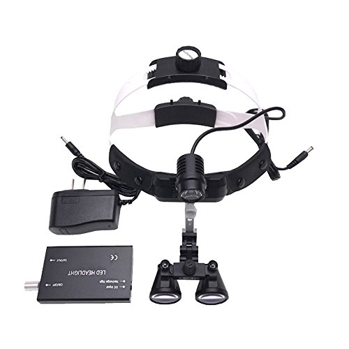 Medical LED Headlight Magnifier Surgical Orthopedics Otolaryngology Dental Head Lamp