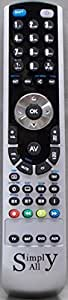 Reemplazo mando a distancia para Lg 6710V00090N de RemotesReplaced
