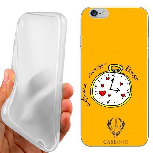 CUSTODIA COVER CASE CASEONE AMORE OROLOGIO PER IPHONE 6 4.7 POLLICI