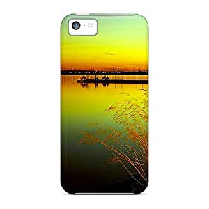 Premium Durable Late Evening Fashion Tpu Iphone 5c Protective Case Cover