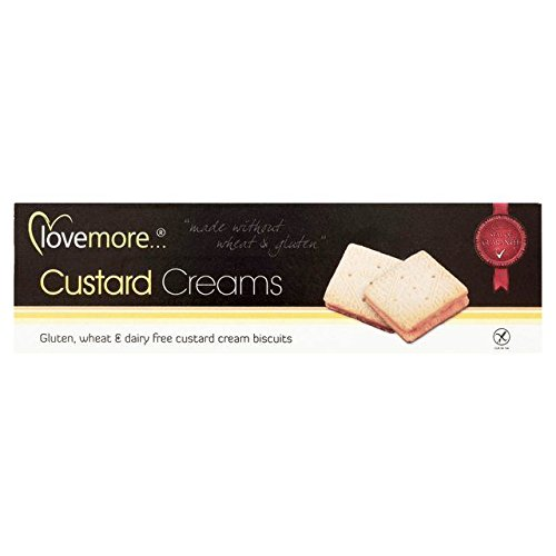 Free Custard Cream - Lovemore Free From Custard Creams - 110g