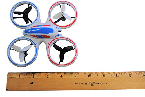 Wonder Chopper EWONDERWORLD Drone for Kids & Beginners Easy to Fly Sky Patroller Mini Quadcopter with LED Lights – Toy RC Plane