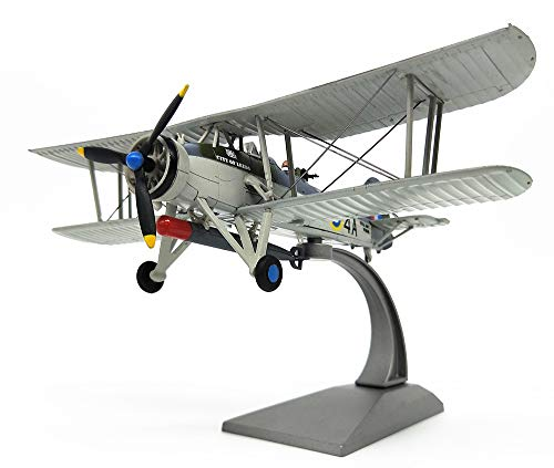 EP-Toy Aircraft Model, World War II Weapons British TSR Finished Simulated Alloy Model, Military Decorative Non-Souvenir Souvenirs